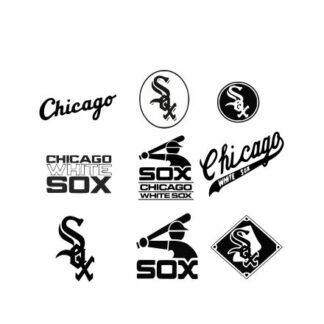 Chicago White Sox SVG, DXF and EPS Cutting Files Silhouette vinyl cut Files, for Cameo and Cricut Explore machines