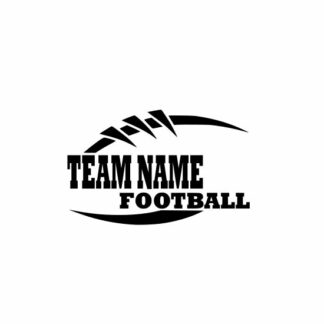Football Team Svg, Football Svg, football svg cut file, cutting file, svg, dxf, eps, Cricut Design Space, Cameo Silhouette Studio