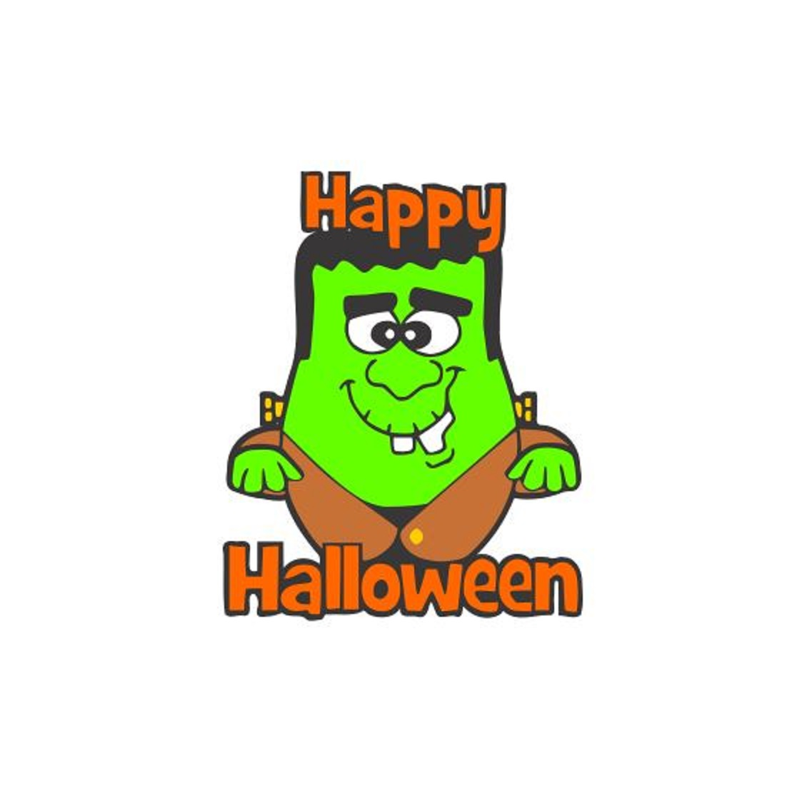 happy halloween svg frankenstein svg cutting file svg halloween