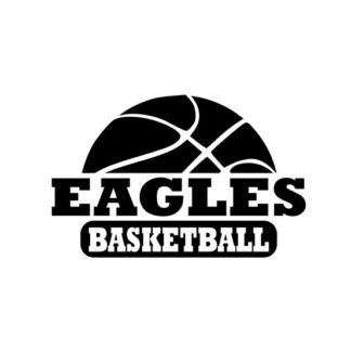 Eagles Basketball cut files, Eagles cut files, Eagle designs, Basketball cut files, cutting file, svg, dxf, eps, Cricut Design Space, Cameo Silhouette Studi
