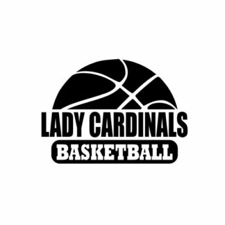 Lady Cardinals Basketball svg, Cardinals svg, Cardinals svg cricut, Basketball svg, cutting file, svg, dxf, eps, Cricut Design Space, Cameo Silhouette Studio