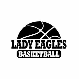 Lady Eagle Basketball svg, Eagle Basketball svg, Eagle svg, cutting file, svg, dxf, eps, Cricut Design Space, Cameo Silhouette Studio
