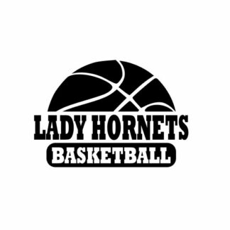 Lady Hornets Basketball svg, Hornets svg, Hornets svg cricut, cutting file, svg, dxf, eps, Cricut Design Space, Cameo Silhouette Studio