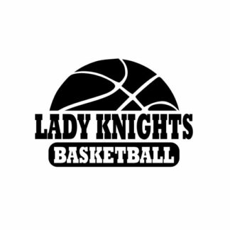 Lady Knights Basketball svg, Knights svg, Knights svg cricut, cutting file, svg, dxf, eps, Cricut Design Space, Cameo Silhouette Studio