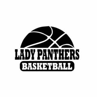 Lady Panthers basketball svg, Panthers svg, Panthers svg cricut, cutting file, svg, dxf, eps, Cricut Design Space, Cameo Silhouette Studio