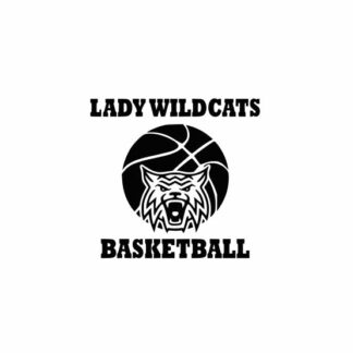 Lady Wildcats Basketball svg, Wildcats svg, Wildcats svg cricut, cutting file, svg, dxf, eps, Cricut Design Space, Cameo Silhouette Studio