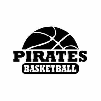 Pirates Basketball svg, Pirates svg, Pirates svg cricut, Basketball svg